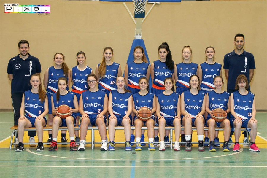 UNDER 18 F. : HELLAS BK CERVIA - BASKET CLUB RUSSI  30-55 / BK LUGO - BASKET CLUB RUSSI  38-60